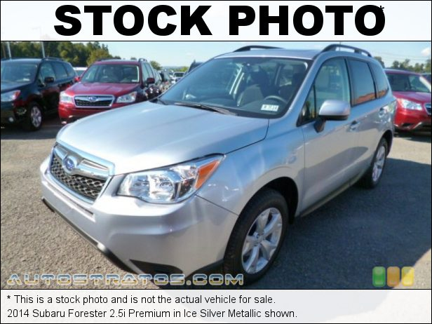 Stock photo for this 2014 Subaru Forester 2.5i Premium 2.5 Liter DOHC 16-Valve VVT Flat 4 Cylinder Lineartronic CVT Automatic