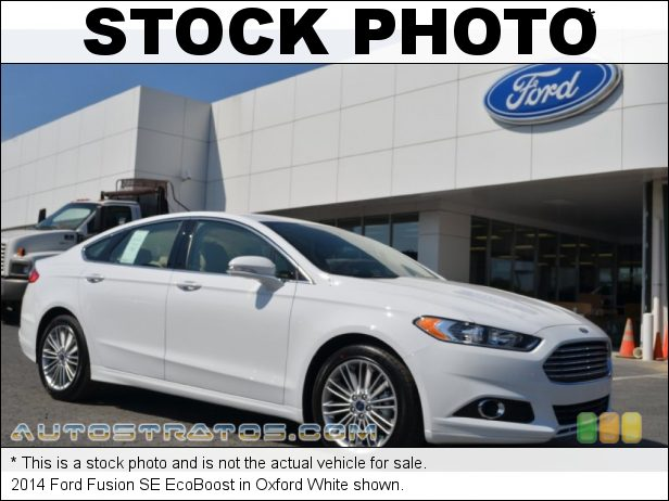 Stock photo for this 2014 Ford Fusion SE EcoBoost 1.5 Liter GTDI EcoBoost Turbocharged DOHC 16-Valve Ti-VCT 4 Cyli 6 Speed SelectShift Automatic