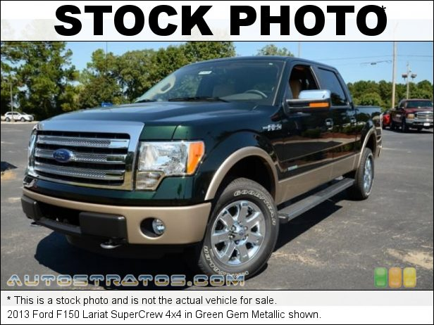 Stock photo for this 2013 Ford F150 SuperCrew 4x4 3.5 Liter EcoBoost DI Turbocharged DOHC 24-Valve Ti-VCT V6 6 Speed Automatic