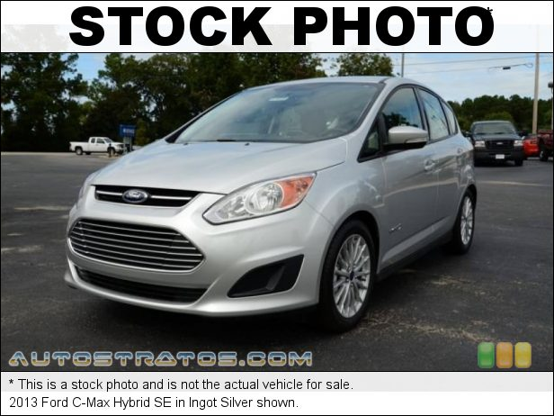 Stock photo for this 2013 Ford C-Max Hybrid SE 2.0 Liter Atkninson Cycle DOHC 16-Valve 4 Cylinder Gasoline/Elec e-CVT Automatic