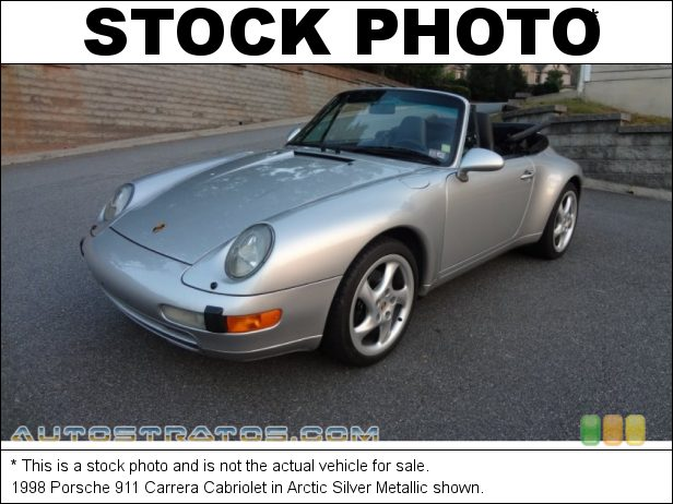 Stock photo for this 1998 Porsche 911 Carrera Cabriolet 3.6 Liter OHC 12V Varioram Flat 6 Cylinder 4 Speed Tiptronic Automatic