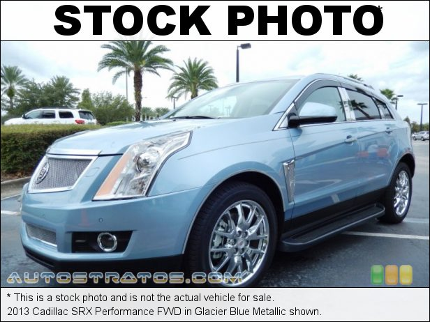 Stock photo for this 2013 Cadillac SRX Performance FWD 3.6 Liter SIDI DOHC 24-Valve VVT V6 6 Speed Automatic