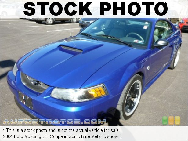 Stock photo for this 2004 Ford Mustang GT Coupe 4.6 Liter SOHC 16-Valve V8 5 Speed Manual