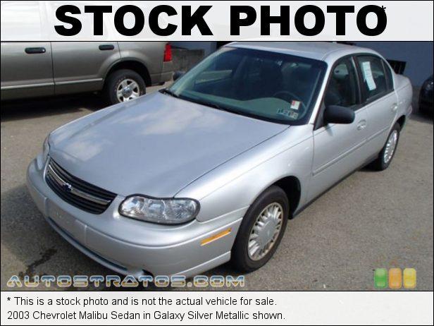 Stock photo for this 2003 Chevrolet Malibu Sedan 3.1 Liter OHV 12 Valve V6 4 Speed Automatic