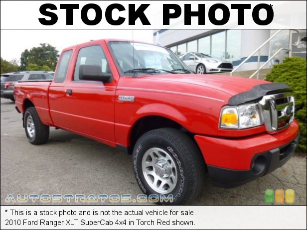 Stock photo for this 2010 Ford Ranger XLT SuperCab 4x4 4.0 Liter SOHC 12-Valve V6 5 Speed Manual