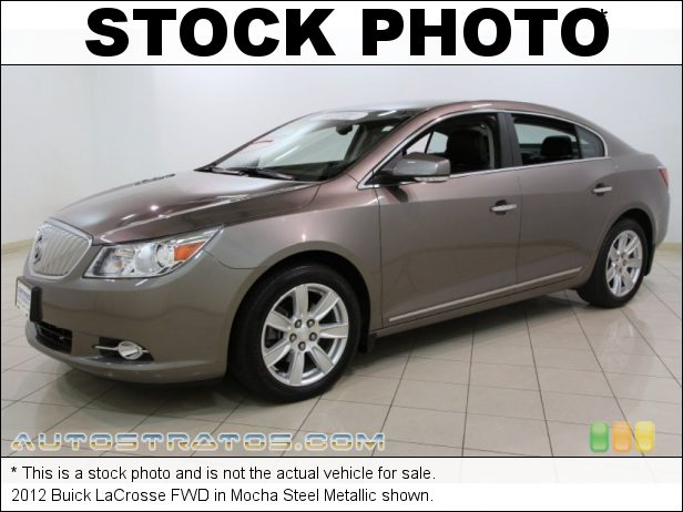Stock photo for this 2012 Buick LaCrosse FWD 3.6 Liter SIDI DOHC 24-Valve VVT V6 6 Speed Automatic