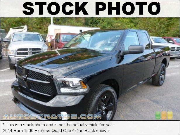Stock photo for this 2014 Ram 1500 Quad Cab 4x4 5.7 Liter HEMI OHV 16-Valve VVT MDS V8 6 Speed Automatic