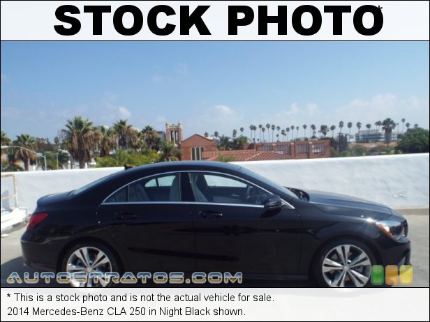 Stock photo for this 2014 Mercedes-Benz CLA  2.0 Liter Turbocharged DI DOHC 16-Valve VVT 4 Cylinder 7 Speed DCT Dual-Clutch Automatic
