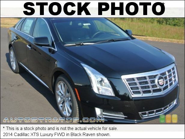Stock photo for this 2014 Cadillac XTS Luxury FWD 3.6 Liter SIDI DOHC 24-Valve VVT V6 6 Speed Automatic