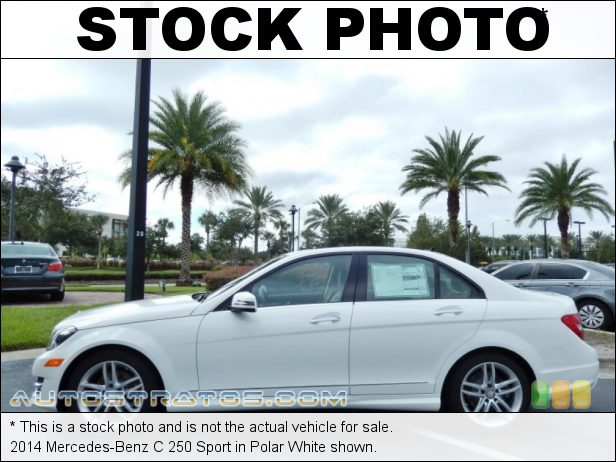 Stock photo for this 2014 Mercedes-Benz C 250 1.8 Liter DI Turbocharged DOHC 16-Valve VVT 4 Cylinder 7 Speed Automatic