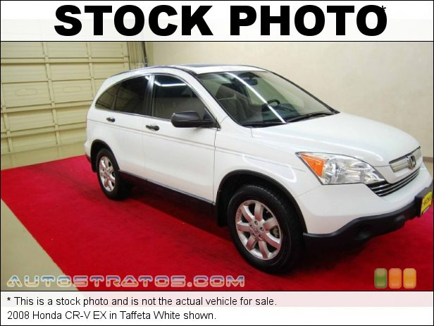 Stock photo for this 2008 Honda CR-V EX 2.4 Liter DOHC 16-Valve i-VTEC 4 Cylinder 5 Speed Automatic