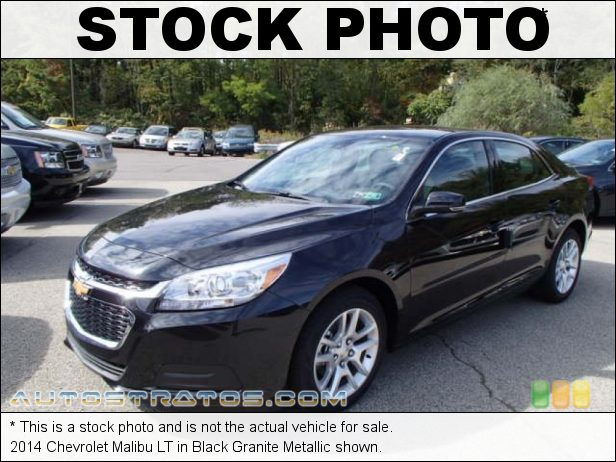 Stock photo for this 2014 Chevrolet Malibu LT 2.5 Liter DI DOHC 16-Valve ECOTEC 4 Cylinder 6 Speed Automatic