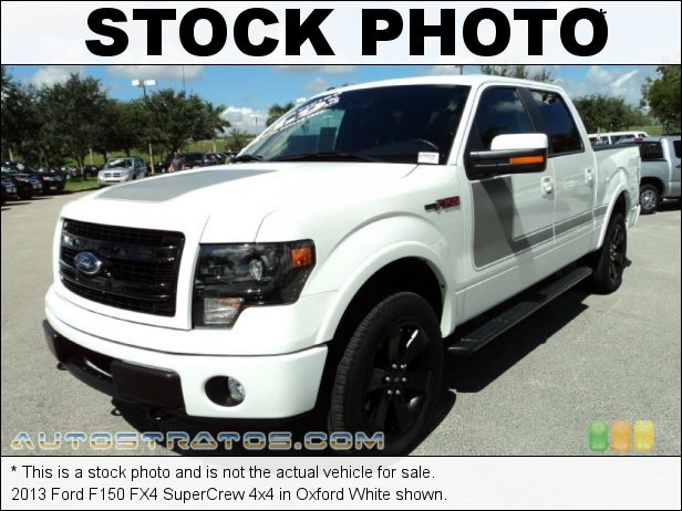 Stock photo for this 2013 Ford F150 SuperCrew 4x4 5.0 Liter Flex-Fuel DOHC 32-Valve Ti-VCT V8 6 Speed Automatic