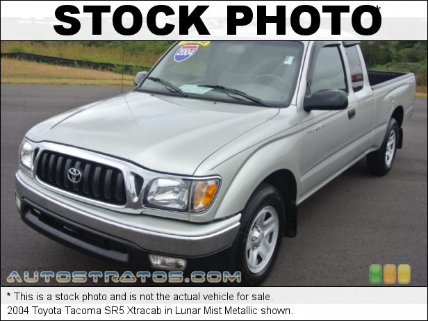 Stock photo for this 2004 Toyota Tacoma Xtracab 2.4 Liter DOHC 16-Valve 4 Cylinder 4 Speed Automatic