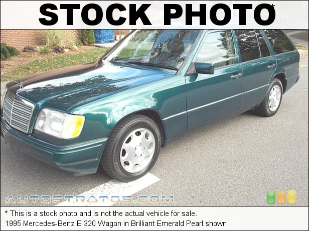 Stock photo for this 1994 Mercedes-Benz E 320 Estate 3.2 Liter DOHC 24-Valve Inline 6 Cylinder 4 Speed Automatic