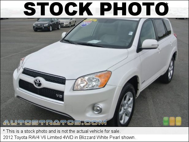Stock photo for this 2012 Toyota RAV4 V6 Limited 4WD 3.5 Liter DOHC 24-Valve Dual VVT-i V6 5 Speed ECT-i Automatic