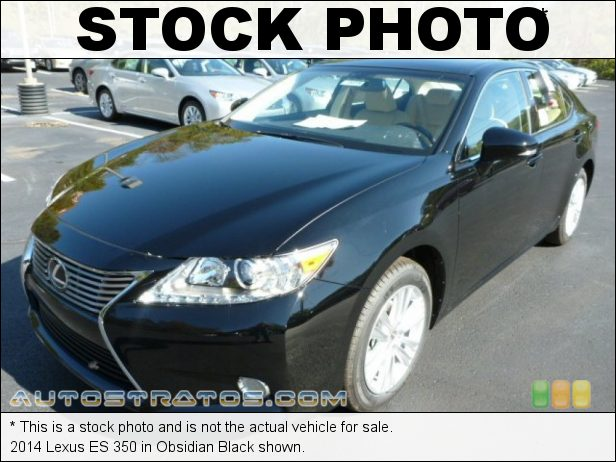 Stock photo for this 2014 Lexus ES 350 3.5 Liter DOHC 24-Valve VVT-i V6 6 Speed ECT-i Automatic