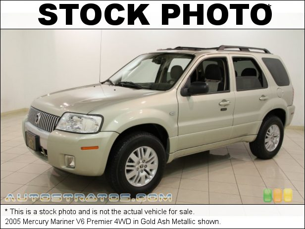 Stock photo for this 2005 Mercury Mariner V6 4WD 3.0 Liter DOHC 24-Valve V6 4 Speed Automatic
