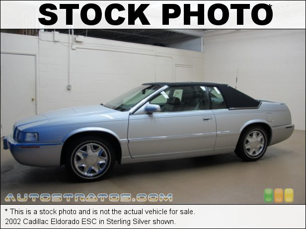 Stock photo for this 2002 Cadillac Eldorado ESC 4.6 Liter DOHC 32V Northstar V8 4 Speed Automatic