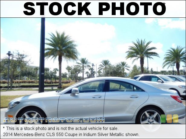 Stock photo for this 2014 Mercedes-Benz CLS 550 Coupe 4.6 Liter Twin-Turbocharged DOHC 32-Valve VVT V8 7 Speed Automatic