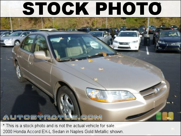 Stock photo for this 2000 Honda Accord Sedan 2.3L SOHC 16V VTEC 4 Cylinder 4 Speed Automatic