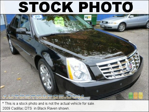 Stock photo for this 2009 Cadillac DTS  4.6 Liter DOHC 32-Valve Northstar V8 4 Speed Automatic