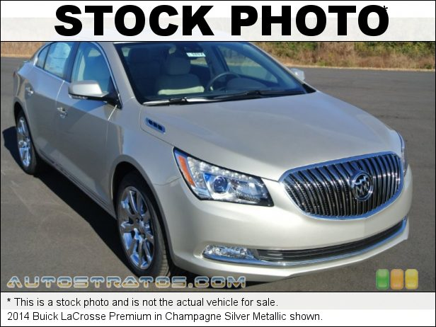 Stock photo for this 2014 Buick LaCrosse Premium 3.6 Liter SIDI DOHC 24-Valve VVT V6 6 Speed Automatic