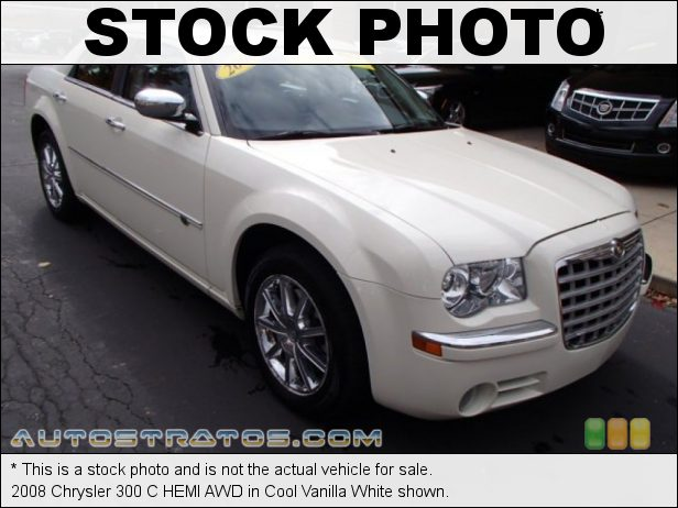 Stock photo for this 2008 Chrysler 300 C HEMI AWD 5.7 Liter HEMI OHV 16-Valve VVT MDS V8 5 Speed Automatic