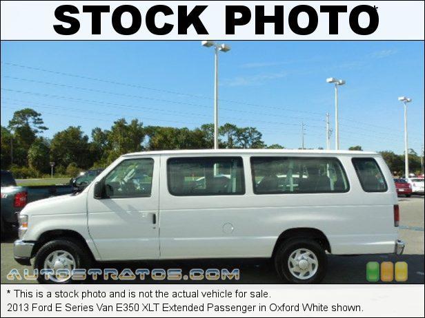 Stock photo for this 2013 Ford E Series Van E350 Extended Passenger 5.4 Liter Flex-Fuel SOHC 16-Valve Triton V8 4 Speed Automatic