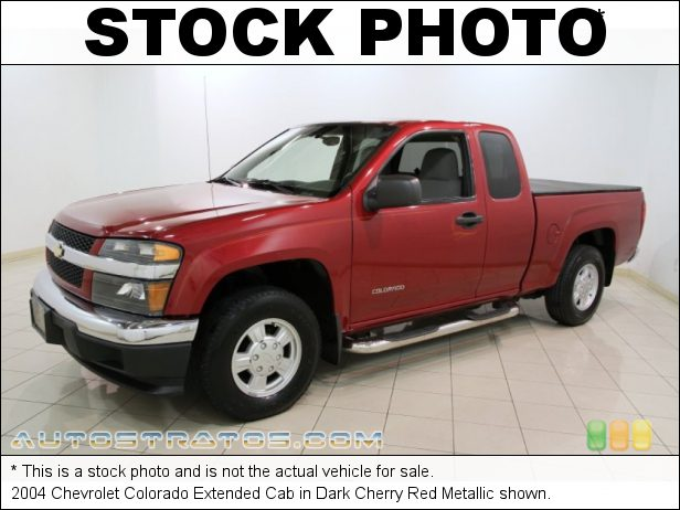 Stock photo for this 2004 Chevrolet Colorado Extended Cab 3.5 Liter DOHC 20-Valve Vortec 5 Cylinder 5 Speed Manual