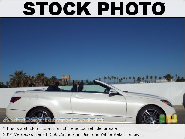 Stock photo for this 2014 Mercedes-Benz E 350 Cabriolet 3.5 Liter DI DOHC 24-Valve VVT V6 7 Speed Automatic