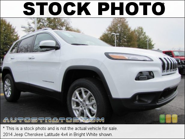 Stock photo for this 2014 Jeep Cherokee Latitude 4x4 3.2 Liter DOHC 24-Valve VVT V6 9 Speed Automatic