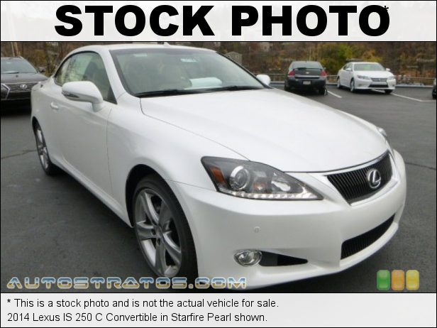 Stock photo for this 2014 Lexus IS 250 C Convertible 2.5 Liter DFI DOHC 24-Valve VVT-i V6 6 Speed Automatic