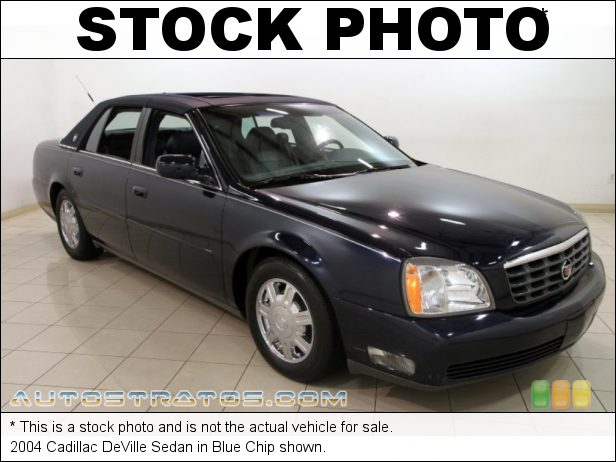 Stock photo for this 2004 Cadillac DeVille Sedan 4.6 Liter DOHC 32-Valve Northstar V8 4 Speed Automatic
