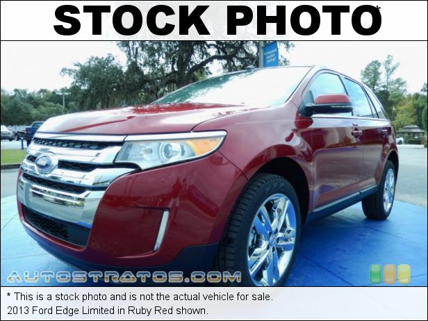 Stock photo for this 2013 Ford Edge Limited 3.5 Liter DOHC 24-Valve Ti-VCT V6 6 Speed SelectShift Automatic