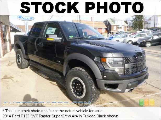 Stock photo for this 2014 Ford F150 SVT Raptor SuperCrew 4x4 6.2 Liter SOHC 16-Valve VCT V8 6 Speed Automatic