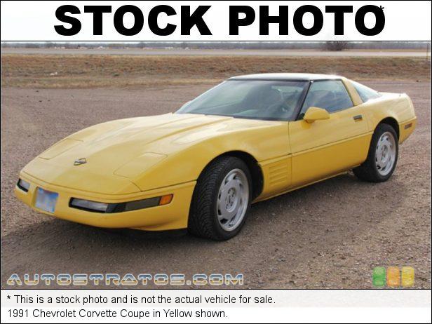 Stock photo for this 1991 Chevrolet Corvette Coupe 5.7 Liter TPI OHV 16-Valve L98 V8 4 Speed Automatic