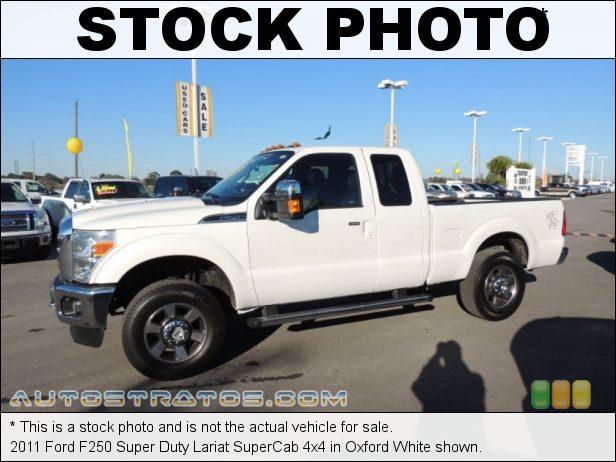 Stock photo for this 2011 Ford F250 Super Duty Lariat SuperCab 4x4 6.2 Liter Flex-Fuel SOHC 16-Valve VVT V8 6 Speed TorqShift Automatic