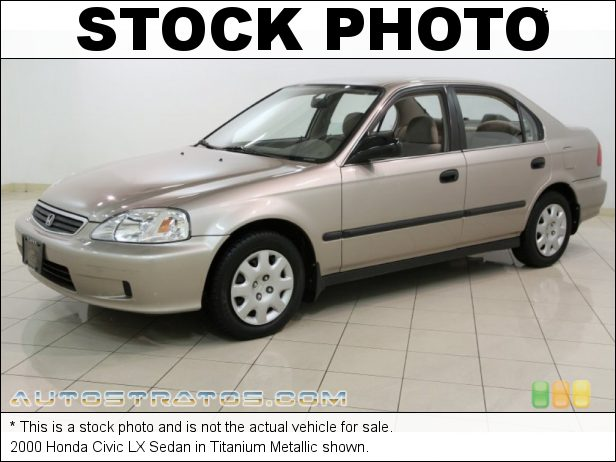 Stock photo for this 1997 Honda Civic LX Sedan 1.6 Liter SOHC 16-Valve 4 Cylinder 4 Speed Automatic