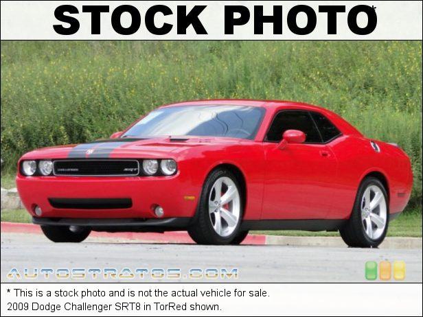 Stock photo for this 2009 Dodge Challenger SRT8 6.1 Liter ProCharger Supercharged SRT HEMI OHV 16-Valve V8 5 Speed Autostick Automatic