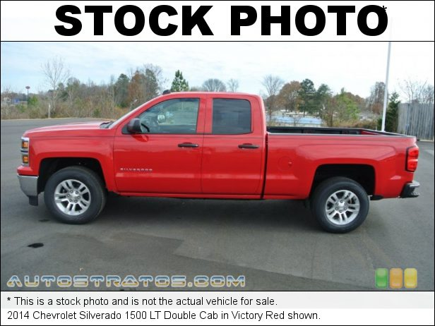 Stock photo for this 2014 Chevrolet Silverado 1500 LT Double Cab 4.3 Liter DI OHV 12-Valve VVT EcoTec3 V6 6 Speed Automatic
