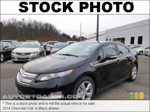 Stock photo for this 2014 Chevrolet Volt  Voltec 111 kW Plug-In Electric Motor/1.4 Liter GDI DOHC 16-Valve 1 Speed Automatic