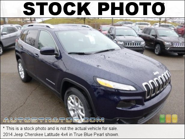 Stock photo for this 2014 Jeep Cherokee Latitude 4x4 2.4 Liter SOHC 16-Valve MultiAir 4 Cylinder 9 Speed Automatic
