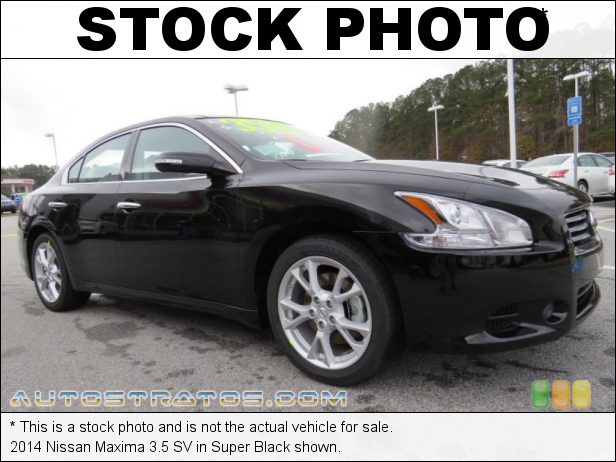 Stock photo for this 2014 Nissan Maxima 3.5 SV 3.5 Liter DOHC 24-Valve CVTCS V6 Xtronic CVT Automatic