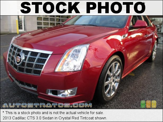 Stock photo for this 2013 Cadillac CTS 3.0 Sedan 3.0 Liter DI DOHC 24-Valve VVT V6 6 Speed Automatic