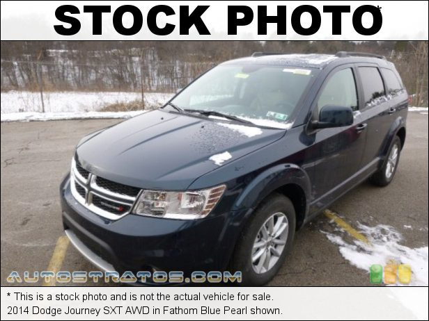 Stock photo for this 2014 Dodge Journey SXT AWD 3.6 Liter DOHC 24-Valve VVT V6 6 Speed AutoStick Automatic