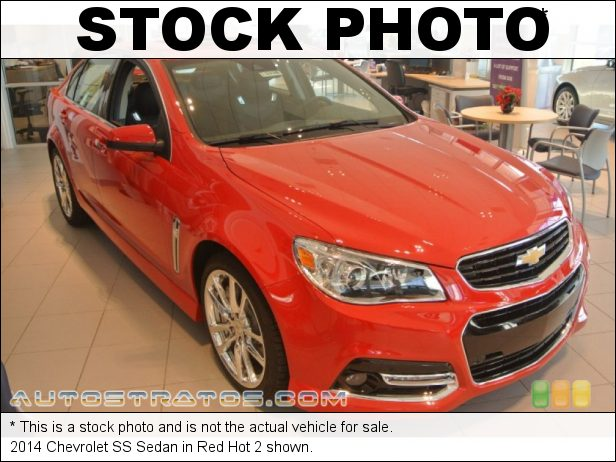 Stock photo for this 2014 Chevrolet SS Sedan 6.2 Liter OHV 16-Valve LS3 V8 6 Speed Automatic