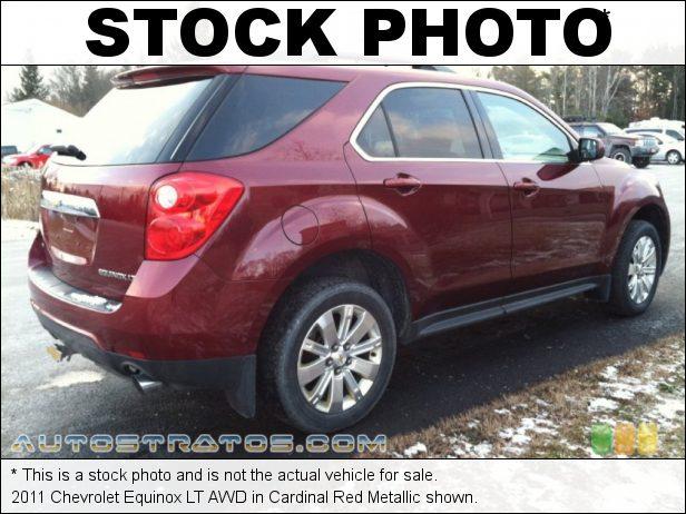 Stock photo for this 2011 Chevrolet Equinox LT AWD 3.0 Liter SIDI DOHC 24-Valve VVT V6 6 Speed Automatic