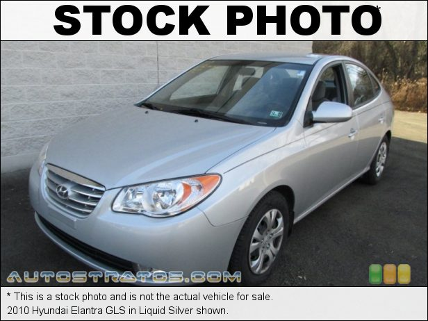 Stock photo for this 2010 Hyundai Elantra  2.0 Liter DOHC 16-Valve CVVT 4 Cylinder 4 Speed Automatic