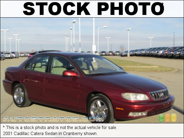 Stock photo for this 2001 Cadillac Catera Sedan 3.0 Liter DOHC 24-Valve V6 4 Speed Automatic